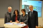 La signature du contrat avec Cray à l'Université Leibnitz d'Hanovre