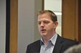 Ross Mason, le CTO de MuleSoft, pris en photo lors d'une visite au siège de la société à San Francisco en décembre 2012