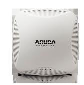 Un point d'accès Wi-Fi 802.11ac de la série 220 d'Aruba Networks intègre deux radios 802.11ac capables chacune de délivrer 1,3 Gbit/s de bande passante en 5GHz ou 600 Mbit/s en 2,4 GHz