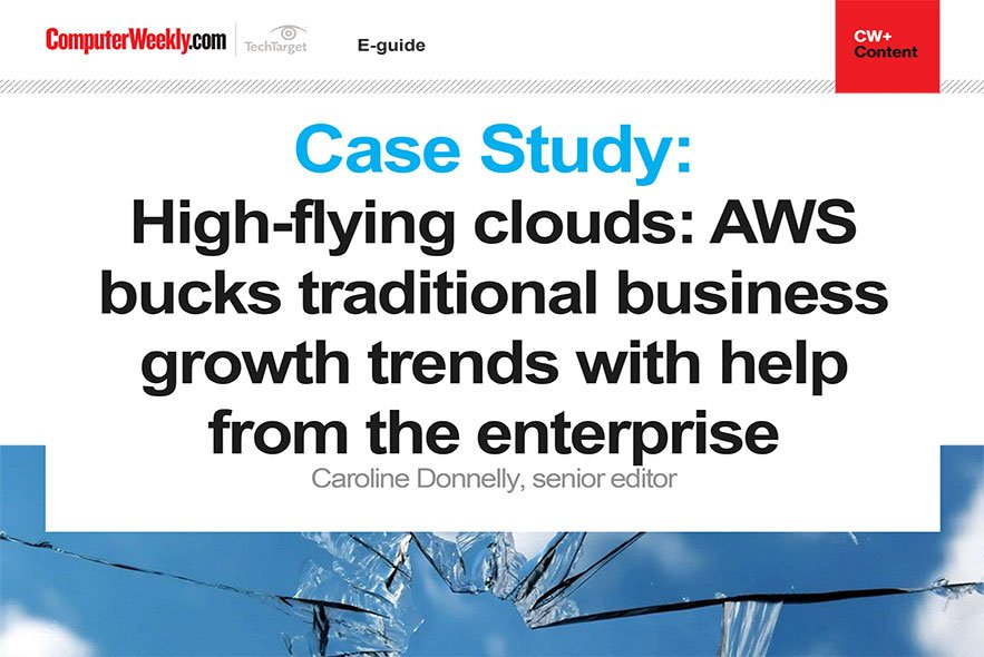 Case Study: AWS bucks traditional business growth trends