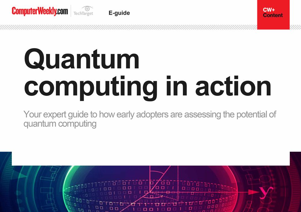 Quantum computing in action