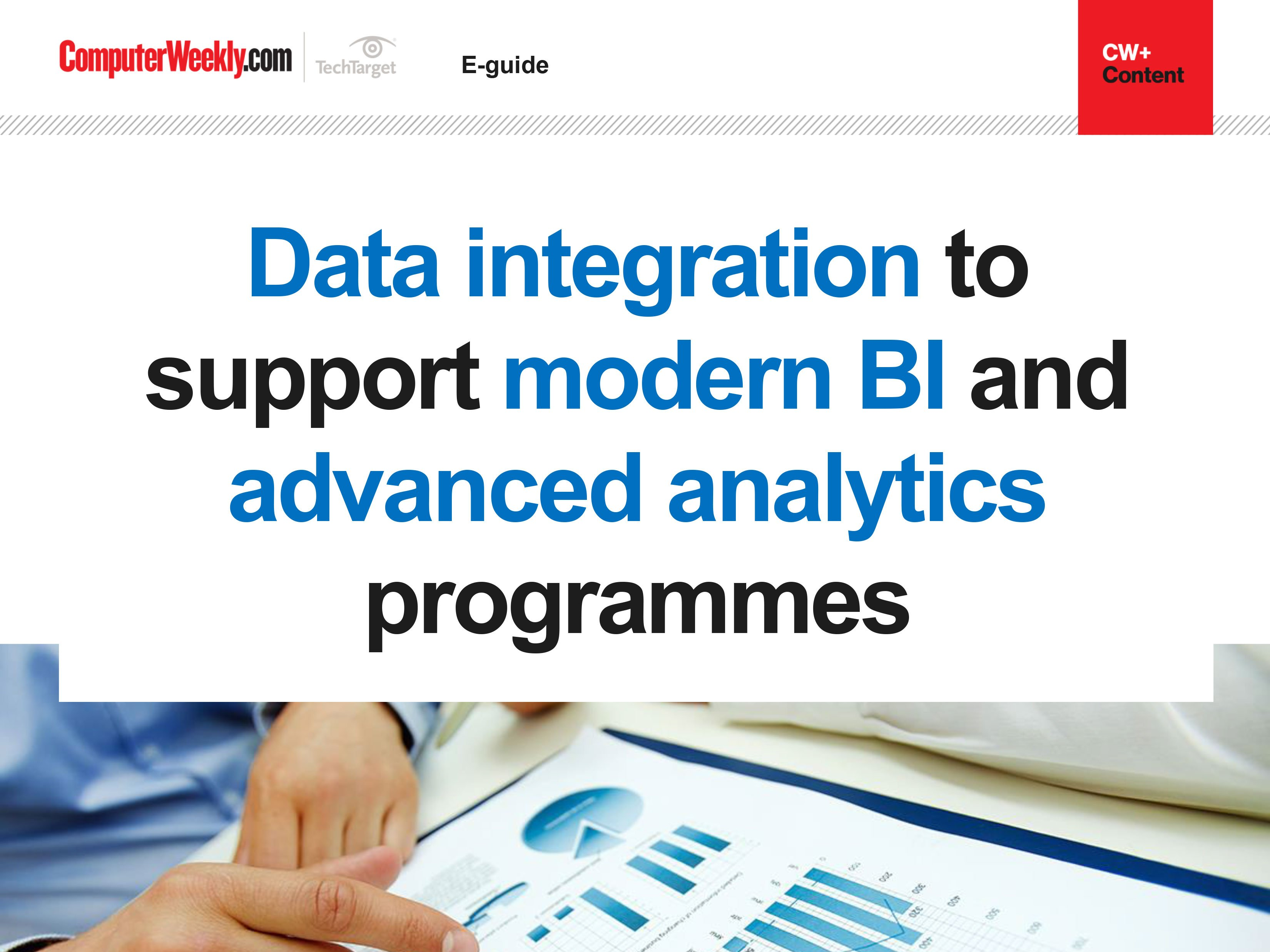 Data integration to support modern BI and advanced analytics programmes