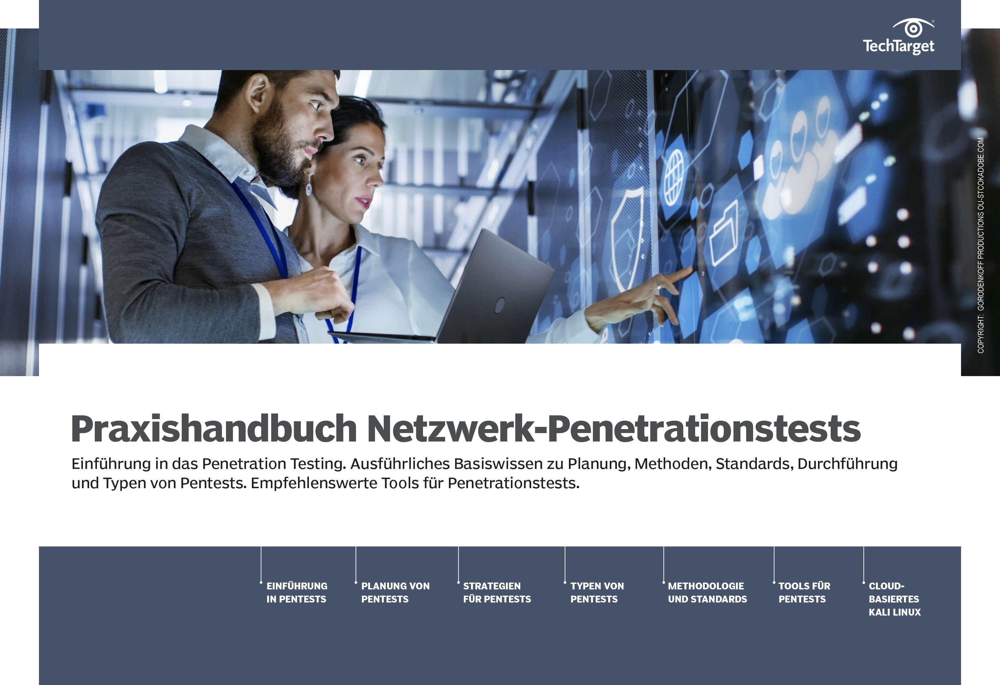Praxishandbuch Netzwerk Penetrationstests