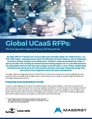 UCaaS: 5 questions for your RFP