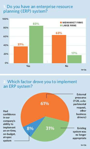 Do you have an ERP system? What drove you to implement it?