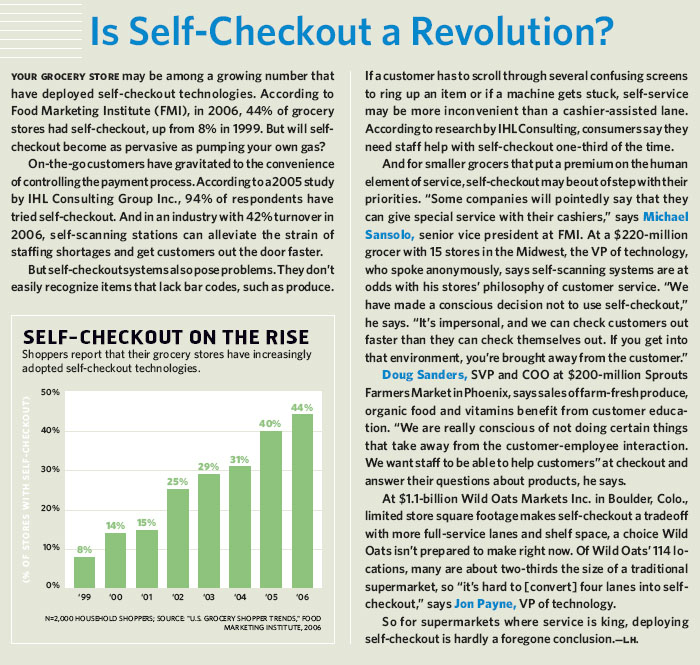 Is Self-Checkout a Revolution?
