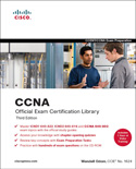 CCNA Official Exam Certification Library, Third Edition, book cover