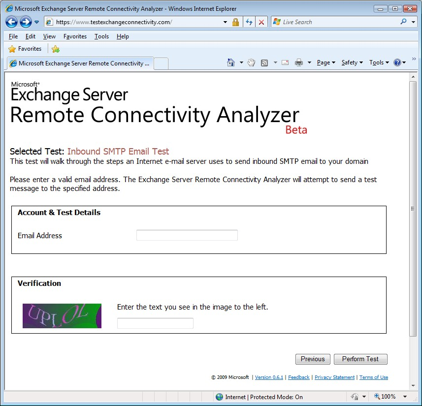 An introduction to the Exchange Remote Connectivity Analyzer tool