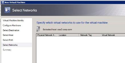 When cloning virtual machines SCVMM does not recognize Distributed vSwitches
