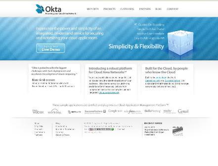 Okta: 2010 top cloud computing startup