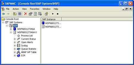 How to start and stop SAP ABAP application server