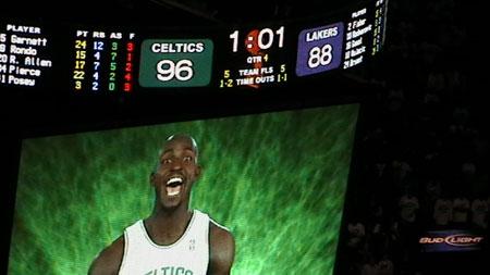 Celtics NBA Finals 2008