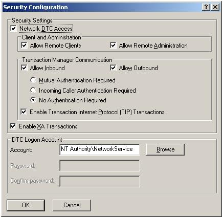 Troubleshooting Distributed Transaction Coordinator errors