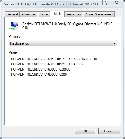 Locate removable device IDs for Group Policy settings