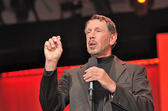 Oracle CEO Larry Ellison at OpenWorld