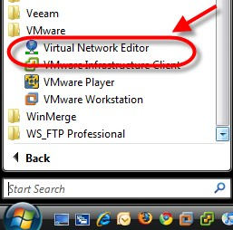Managing virtual networks with VMware's Workstation and the