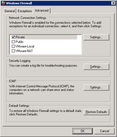 How to install a guest OS in VMware on Windows Server 2003