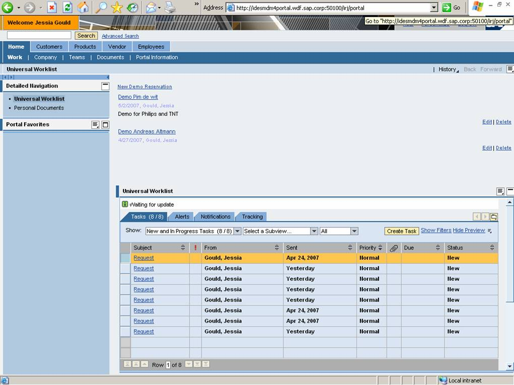 Sap Master Data Management Demo And Trends