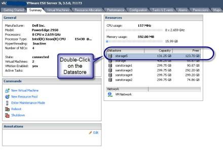 datastore browser example: uploading Fedora Core ISO file on VMware Server 3i