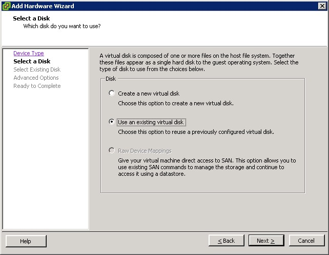 Salvaging corrupt VMware guest OS data with VMDK snapshots