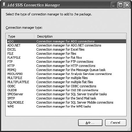 SQL Server Integration Services (SSIS) tools