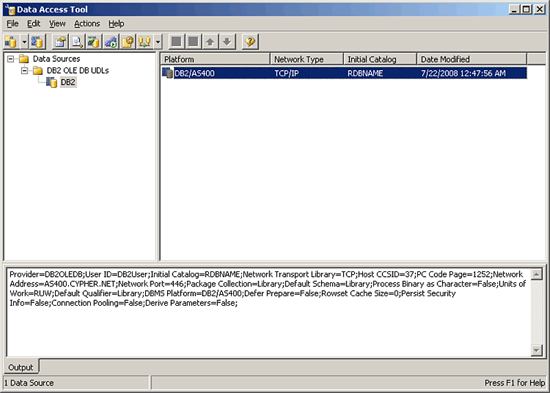 How to create a SQL Server linked server to DB2