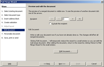 Step By Step How To Part One Openoffice 20s New Mail Merge Tools