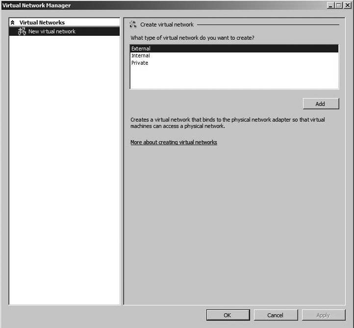 Configuring virtual networking for Microsoft Hyper-V