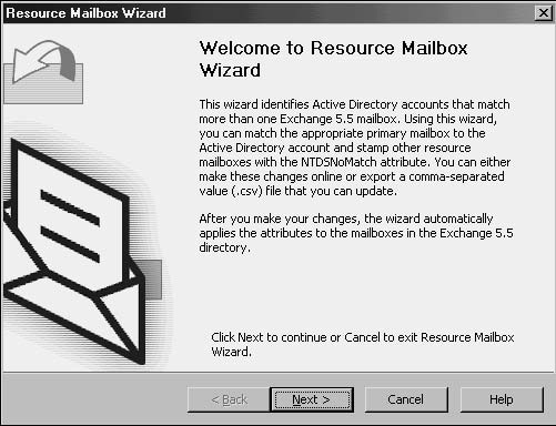 Resource Mailbox Wizard