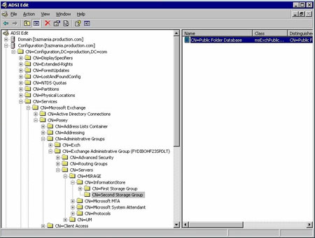Exchange Server 2007 ADSI Edit
