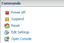 Power options for graceful VMware virtual machine power-offs