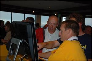SAP exec John Schwarz helps 505 sailors use the Xcelsius dashboard