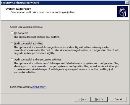 Configure Exchange 2007 Security Audit Policy for Edge Transport servers