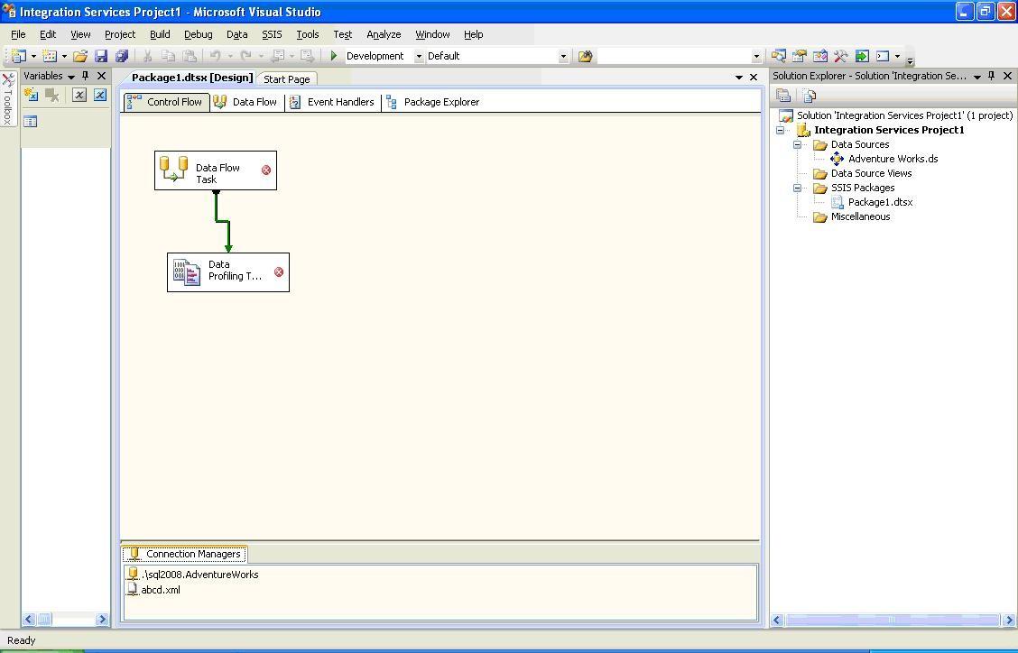 New data profiling tools in SQL Server 2008