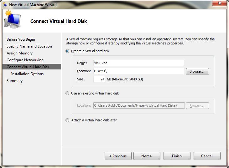 Fixed vs  dynamic disks for Hyper-V virtual machines