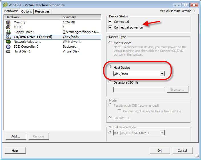 vsphere 6.5 install vm from iso