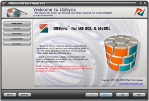 DBSync for MS SQL & MySQL