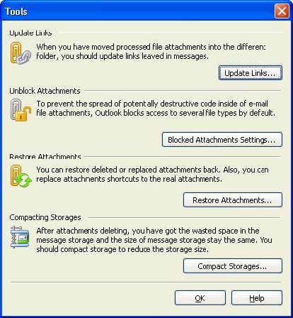 MAPILab's Attachments Processor for Outlook