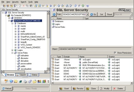 ScriptLogicSecurity Explorer for SQL Server