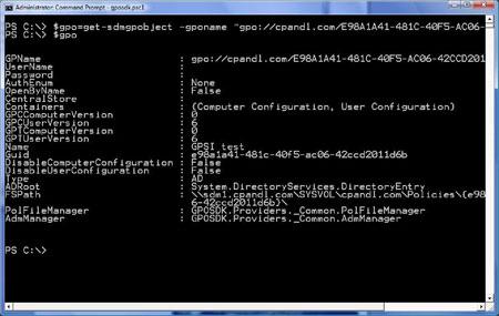 GPExpert Scripting Toolkit for PowerShell v 1 0