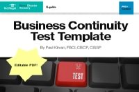 Business Continuity Template
