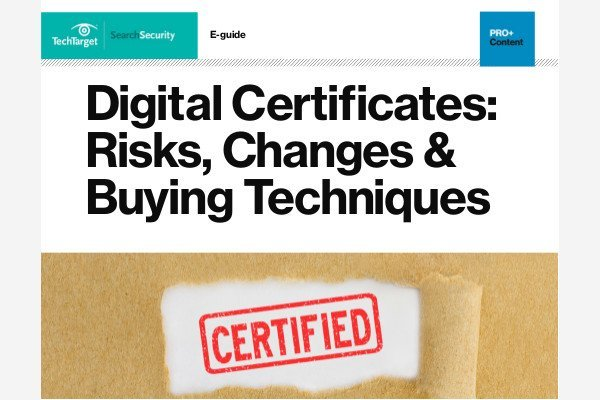 PKI and digital certificates news, help and research - SearchSecurity