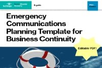 Emergency Communications Plan Template