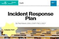 Free Incident Response Plan Template