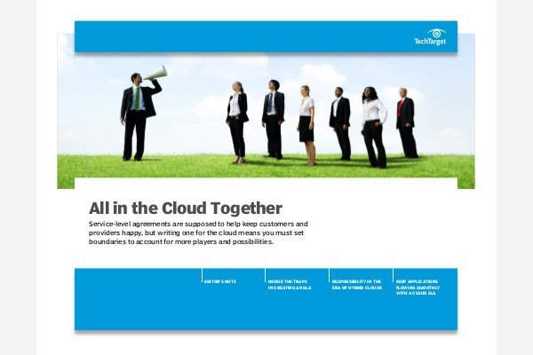 SaaS SLAs: What you must have in an agreement