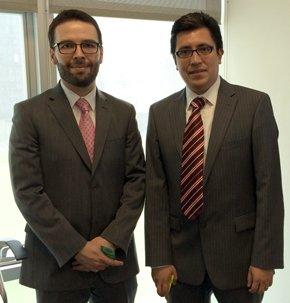 Gustavo Nava y Alberto R�os.