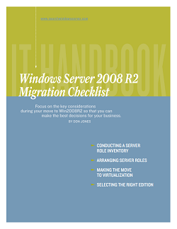 Windows Server 2008 R2 migration checklist for SMBs
