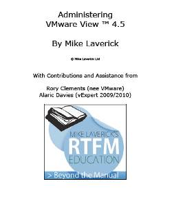 VMware View 4.5 Guide