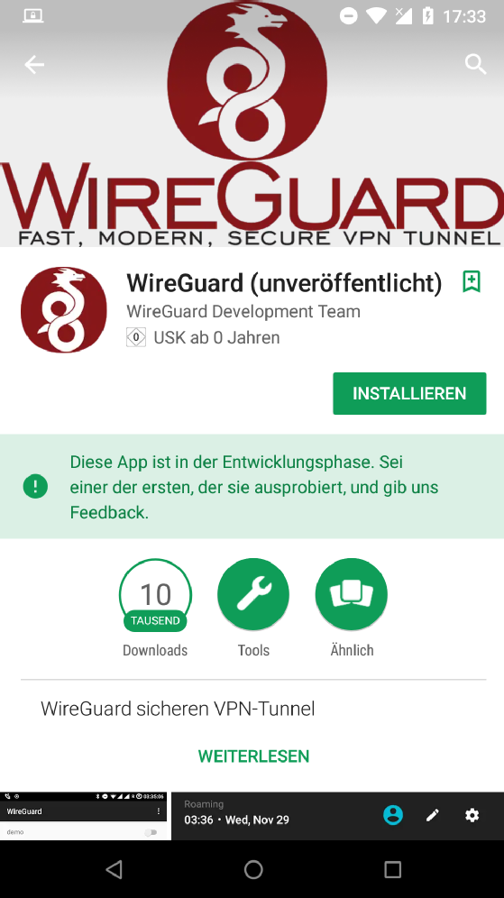 Wireguard Raspberry Pi