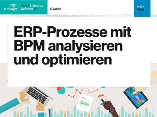 E-Guide ERP-Prozesse mit BPM analysieren und optimiere